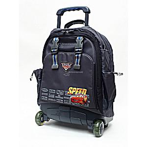 Школьный рюкзак на колесах – ранец Wheelpak Cars Grey – арт. WLP2135 (для 3-5 класса, 21 литр)
