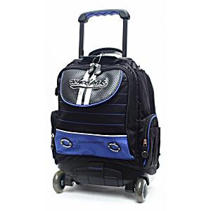 Школьный рюкзак на колесах – ранец Wheelpak Punch Navy – арт. WLP2140 (для 0-3 класса, 15 литров)