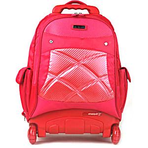 Школьный рюкзак на колесах – ранец Wheelpak Cosmo Pink – арт. WLP2161 (для 3-5 класса, 21 литр)
