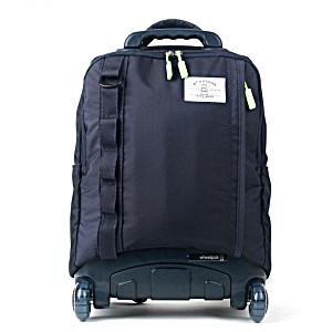 Школьный рюкзак на колесах – ранец Wheelpak Cruze Navy – арт. WLP2187 (для 3-5 класса, 21 литр)