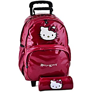Рюкзак на колесах HELLO KITTY арт. HPR22080
