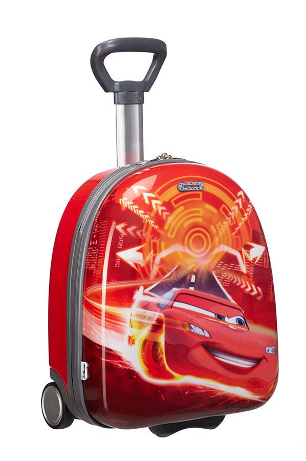 Чемодан детский 2-х колесный Disney Тачки, - фото 1