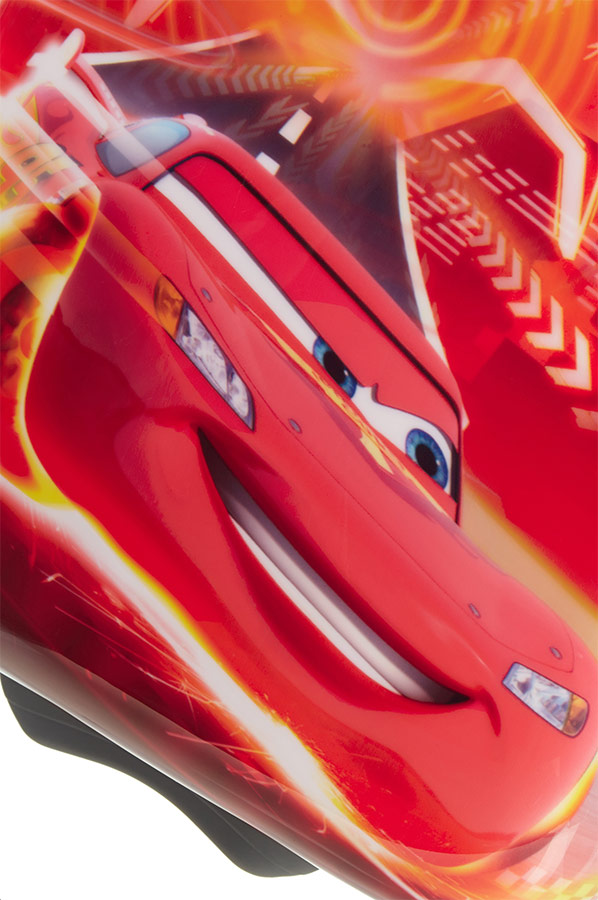 Чемодан детский 2-х колесный Disney Тачки, - фото 7