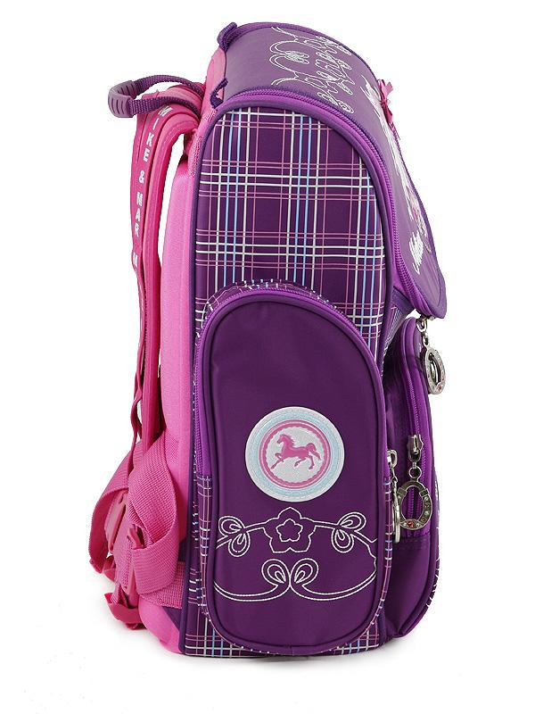Школьный рюкзак Mike&Mar Майк Мар Котенок (малин/син) 1074-ММ-126 + мешок для обуви + пенал, - фото 4