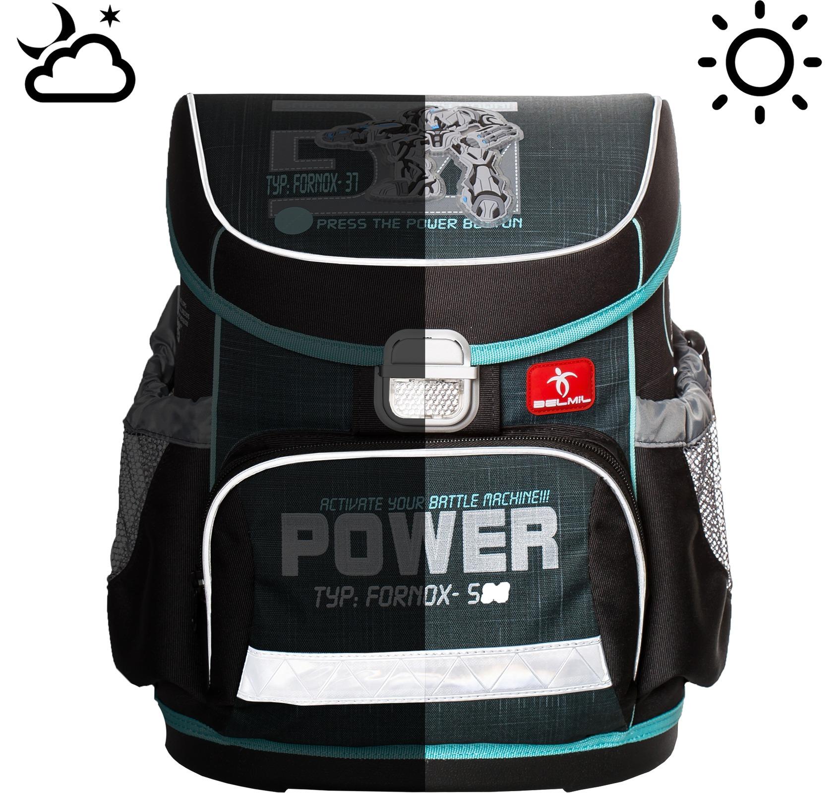 Школьные рюкзаки Belmil 405-33 Скорость Speed Racing, - фото 9