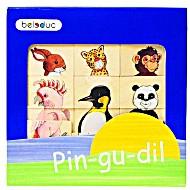 Развивающая игра деревянная Beleduc Пин-Гу-Дил