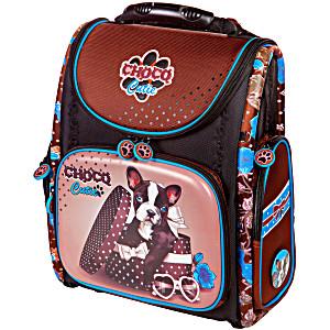 Школьный рюкзак – ранец HummingBird K99 Choco Cutie с мешком для обуви