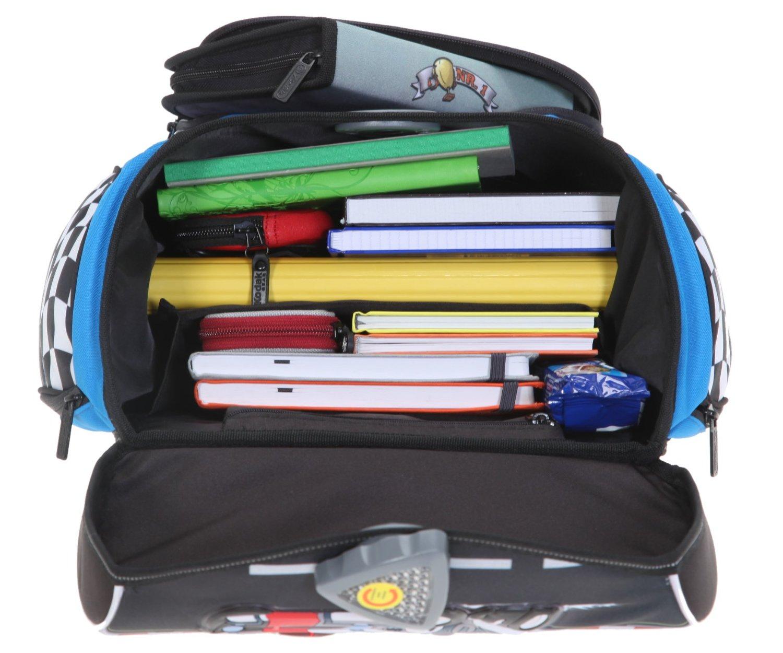 Школьный ранец Herlitz Sporti Plus Spaceshuttle с наполнением 4 предмета, - фото 9