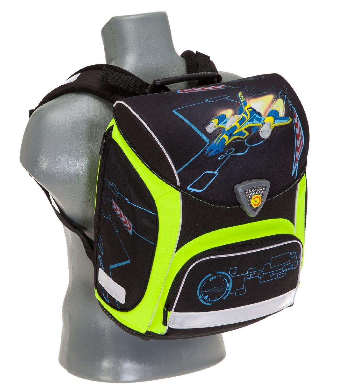 Школьный ранец Herlitz Sporti Plus Spaceshuttle с наполнением 4 предмета, - фото 5