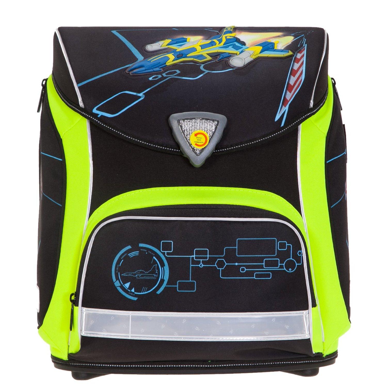 Школьный ранец Herlitz Sporti Plus Spaceshuttle с наполнением 4 предмета, - фото 2