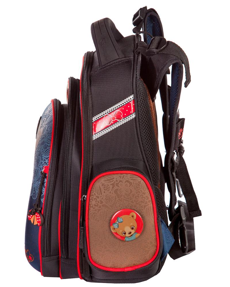 Рюкзаки для девочек Hummingbird TK32 Мишка с мешком для обуви, - фото 2