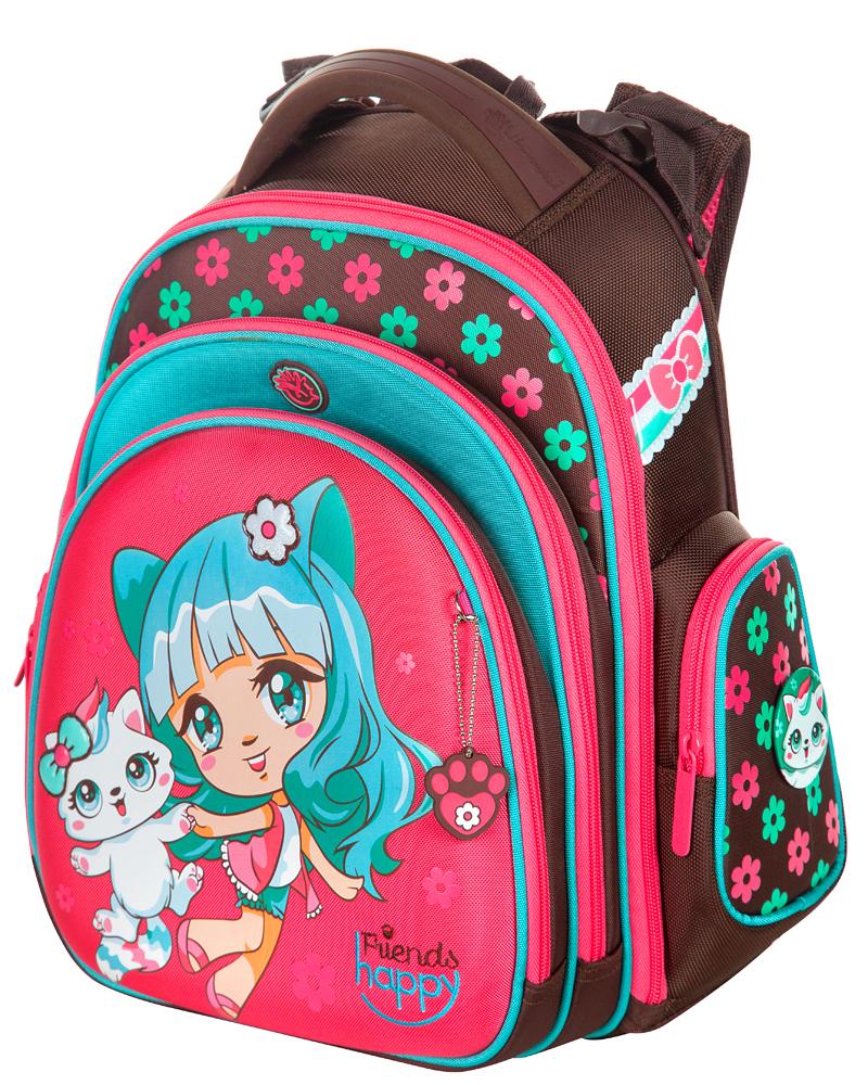 Школьный рюкзак Hummingbird TK51 официальный с мешком для обуви, - фото 1