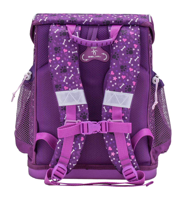 Школьные рюкзаки Belmil 405-33 Собачка I Love Puppies, - фото 2