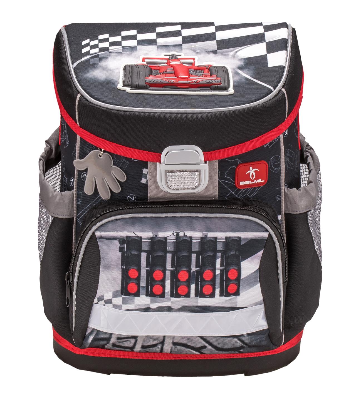 Школьные рюкзаки Belmil 405-33 Скорость Speed Racing, - фото 2