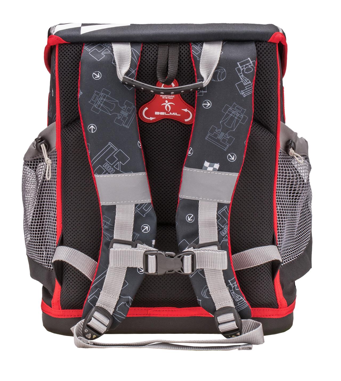 Школьные рюкзаки Belmil 405-33 Скорость Speed Racing, - фото 3
