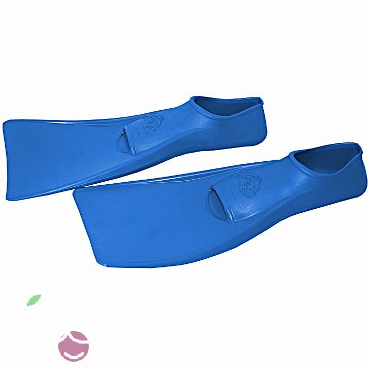 Ласты детские эластичные маленький размер 26 синие закрытая пятка ProperCarry (ПРОПЕРКЭРРИ), - фото 2