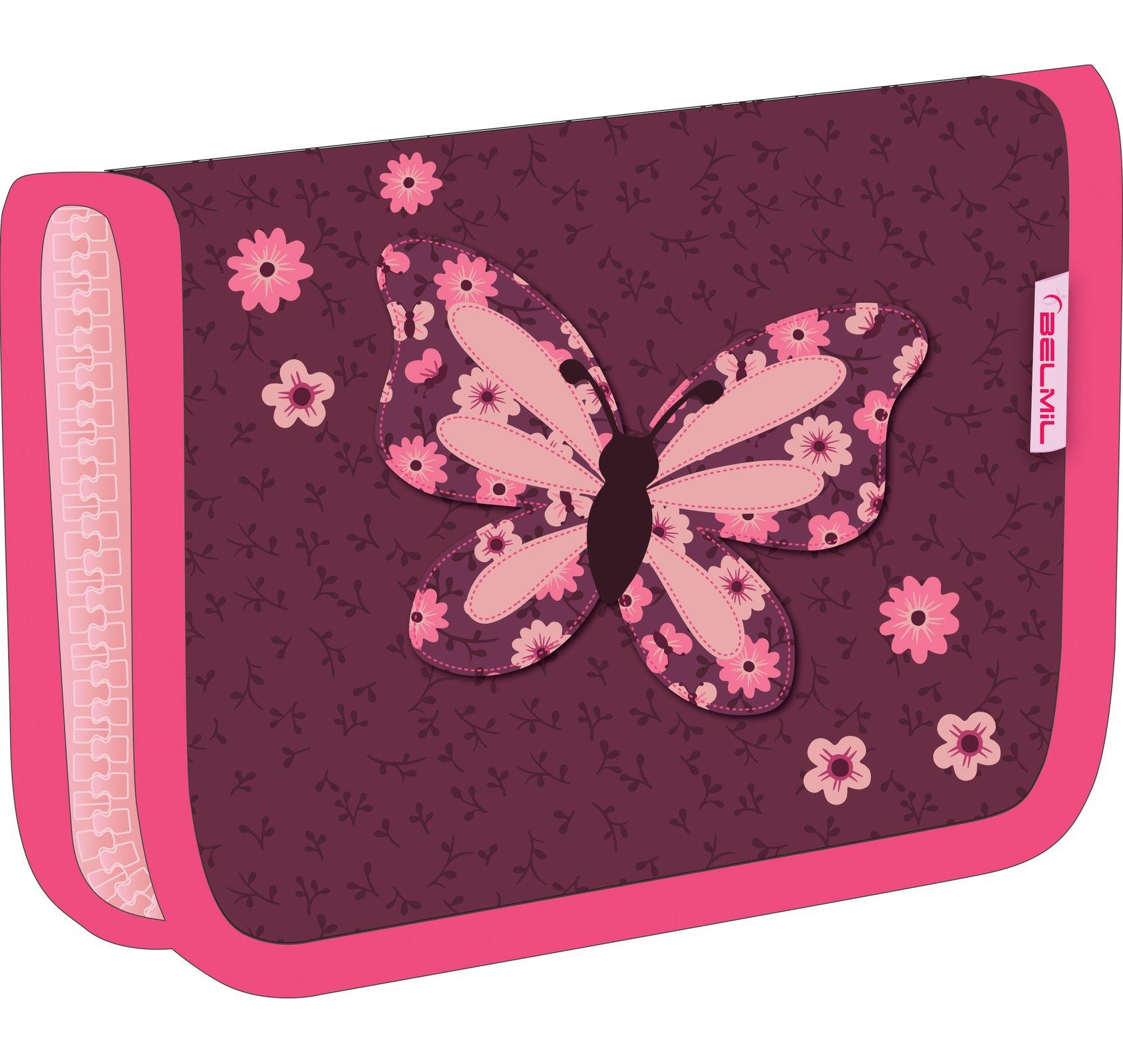 Пенал Belmil Бабочка 335 72 Butterfly, - фото 1