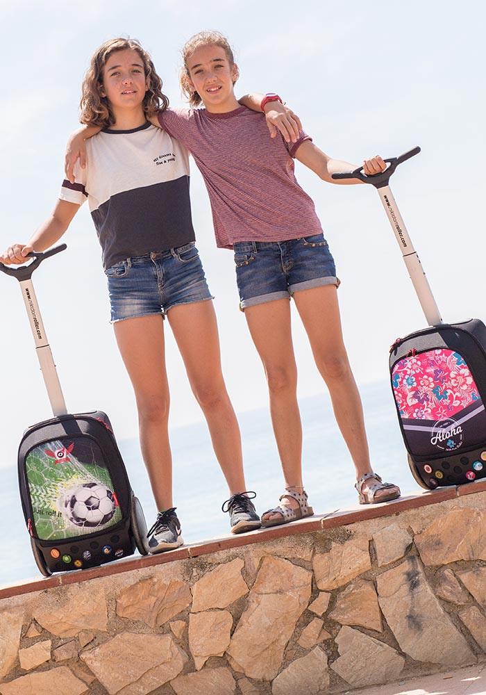 Рюкзак на колесах Aloha Nikidom Испания арт. 9001 (19 литров), - фото 21