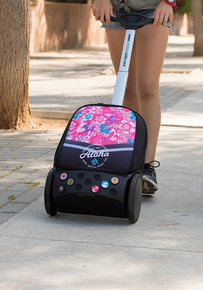 Рюкзак на колесах Aloha Nikidom Испания арт. 9001 (19 литров), - фото 22