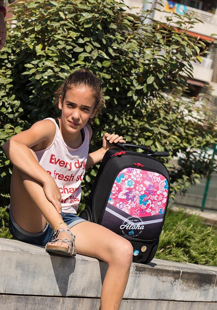Рюкзак на колесах Aloha Nikidom Испания арт. 9001 (19 литров), - фото 23